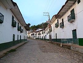 Street in San Agustín