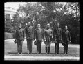 Calvin Coolidge and group at White House, Washington, D.C. LCCN2016894149.tif