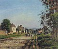 Camille Pissarro - Near Louveciennes, the Street - Rosengart collection.jpg