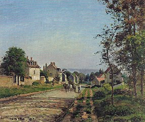 Around Louveciennes, the Road