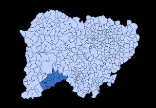Los Agadones Comarca in Castile and León, Spain