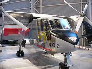 Canada Aviation and Space Museum - Canadair CL-84 Dynavert prototype