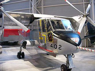 Canadair CL-84 - CL-84-1 (CX8402) on display at the Canada Aviation Museum in Ottawa, Ontario