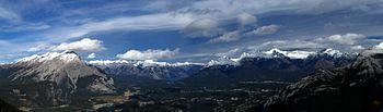 From Gondola, Banff, Alberta, Canada.