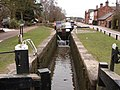 Canal Lock at Fradley Junction - geograph.org.uk - 1573856.jpg