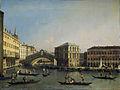 Caneletto - Het Canal Grande met de Ponte Rialto en de Fondaco dei Tedeschi.jpg