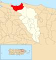 Cangrejo Arriba, Carolina, Puerto Rico locator map.png