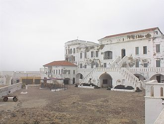 Cape Coast Castle - Cape Coast Castle, as rebuilt by the British in the 18th century