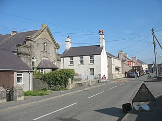 village and community in Anglesey, north-west Wales