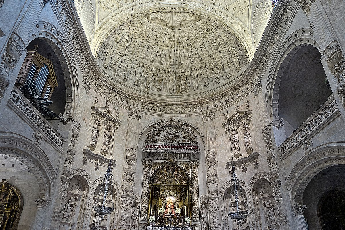 Mart n de gainza arquitecto wikipedia la enciclopedia libre - Catedral de sevilla interior ...