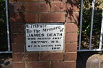 Caragabal Anglican Church Memorial J Death.JPG
