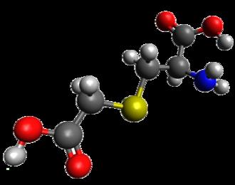 Carbocisteine - Image: Carbocisteine 3D