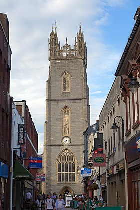 Cardiff, Church Street, St. John the Baptist.jpg