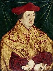Kardinal Albrecht von Brandenburg