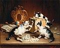 Carl Reichert - Playful kittens.jpg
