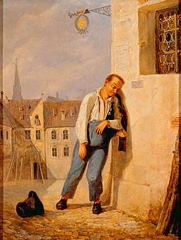 Carl Spitzweg - Der Betrunkene