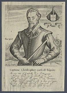 Christopher Carleill English writer