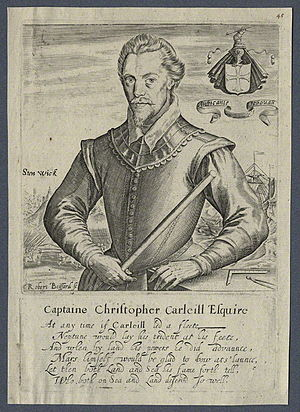 Battle of Santo Domingo (1586) - Christopher Carleill who commanded the English troops