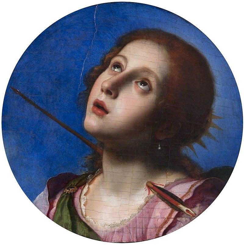 Карло Дольчи (1616-1686) - Святая Кристина Больсена - 108843 - National Trust.jpg