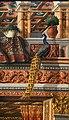 Carlo crivelli, annunciazione con sant'emidio, dalla chiesa dell'annunciazione ad ascoli 10 pavone.jpg