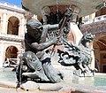 Carlo maderno e giovanni fontana, fontana della madonna a loreto, 1604-14, poi 1622, 05.jpg
