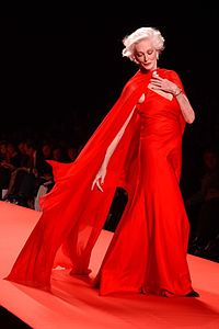 Carmen Dell'Orefice, Red Dress Collection 2005.jpg