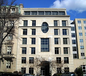 Carnegie Endowment for International Peace - The Endowment's headquarters located at 1779 Massachusetts Avenue, NW in Washington, D.C.