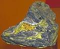 Carnotite in sandstone (Montrose County, Colorado, USA) 3 (23530017065).jpg