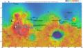 Carte de Mars et site visé Tianwen-1.png