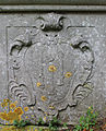 Cartouche on Jeffery chest tomb, Mappowder.jpg