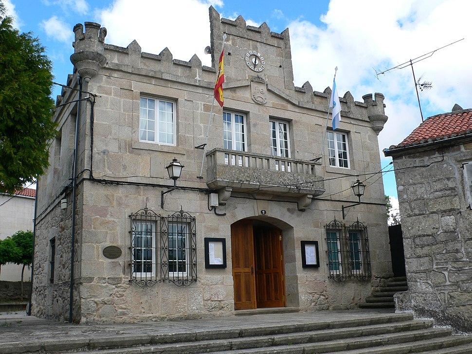 Casa do concello de Rodeiro