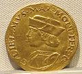 Casale monferrato, guglielmo II paleologo marchese, oro, 1494-1518, 02.JPG