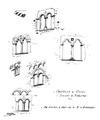Castello d'Ussel, schizzi di finestre, da schizzo D Andrade, fig 129 bis disegno nigra.tiff