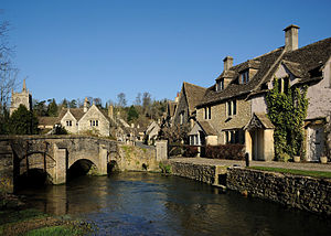 "Clive Mantle - Castle Combe, a setting for the cult fantasy series Robin of Sherwood, in which Mantle played ""Little John"""