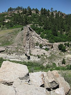 Castlewood Canyon State Park State park in Colorado, United States