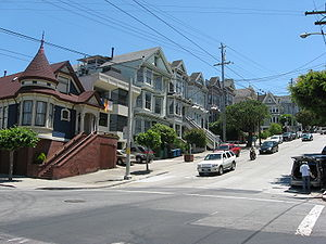 Castro District, San Francisco - Corner of 20th Street and Castro