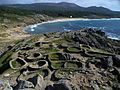 Castro de Baroña y playa de Arealonga-Complexo Húmido de Corrubedo-Coruña-Spain.jpg