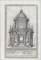 Catafalque for Cardinal Alessandro Farnese; from 'Libro De Catafalchi, Tabernacoli, con varij designi di Porte fenestre et altri ornamenti di Architettura' MET DP874856.jpg