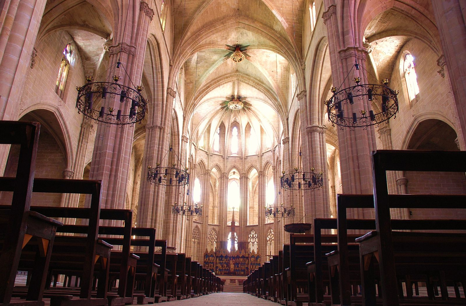 Interior Catedral Tortosa