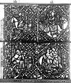 Cathédrale - Vitrail, déambulatoire, baie 52, le Bon Samaritain, septième panneau, en haut - Rouen - Médiathèque de l'architecture et du patrimoine - APMH00032387.jpg