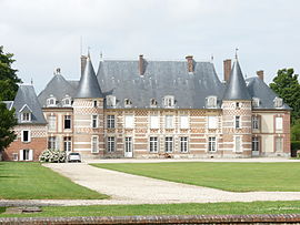 The chateau of Catteville