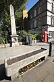 Cattle And Horse Drinking Trough in front of Drinking Fountain in the boundary wall of Christ Church churchyard.jpg