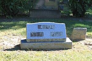 Cecil Creal - Creal grave