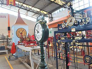 Relojes Centenario - View of factory floor