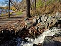 Central Park waterfall in Roseville Minnesota.jpg