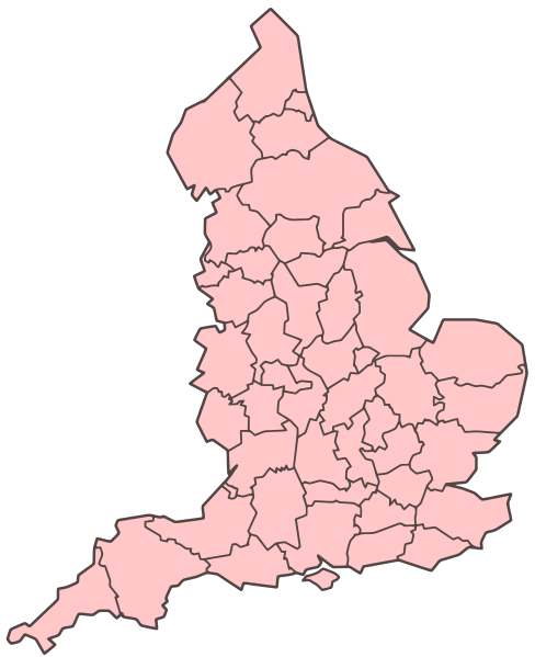 Counties of England - Wikipedia, the free encyclopedia