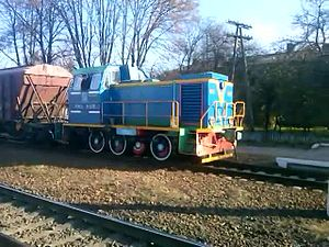Файл:ChME3-917 and TGM23V-1378, Krolevets station.webm