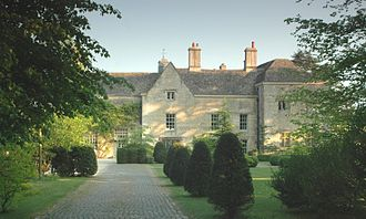 Chadlington - North front of Chadlington Manor House, built in the 17th century