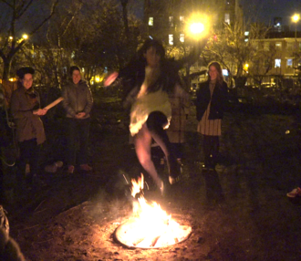 Chaharshanbe Suri - Charshanbe Suri in New York City, March 2016