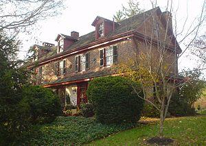 Chamberlain-Pennell House - Chamberlain Pennel House, November 2009